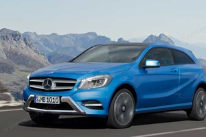 The Mercedes GLA compact crossover (by Christian Schulte)