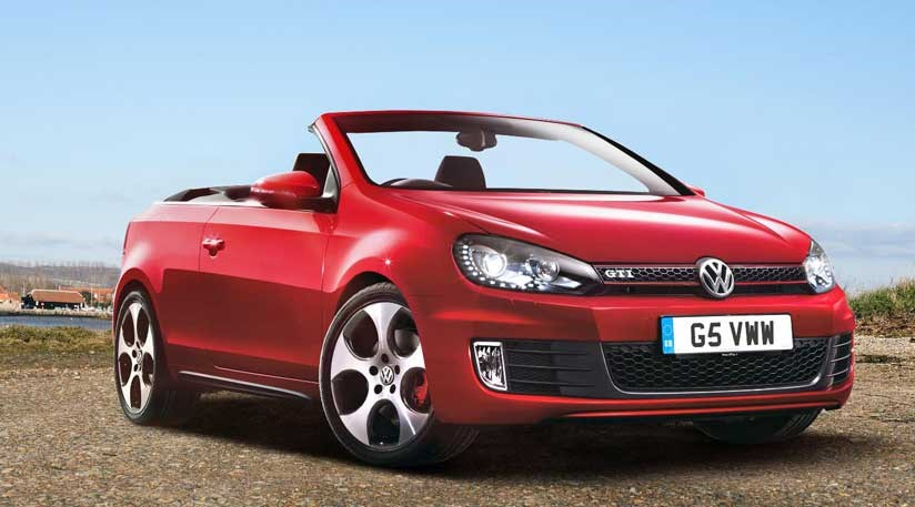 vw golf gti cabriolet 2012 uk pricing announced car magazine. Black Bedroom Furniture Sets. Home Design Ideas
