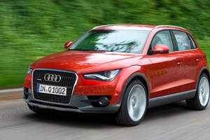 The new Audi Q2, here in late 2013