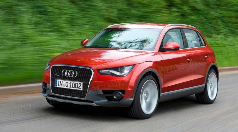 Audi Q The Junior SUV Revealed By CAR Magazine - Audi car q2