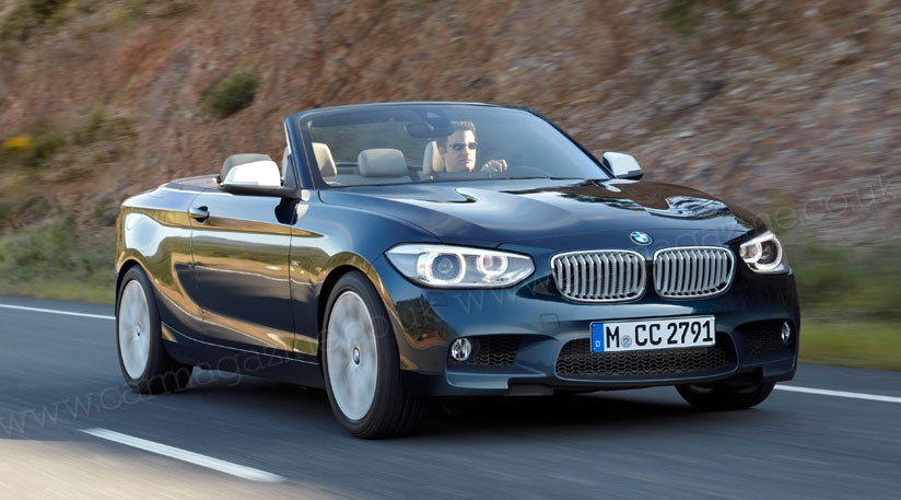 bmw 2 series cabriolet 2014 revealed by car magazine. Black Bedroom Furniture Sets. Home Design Ideas