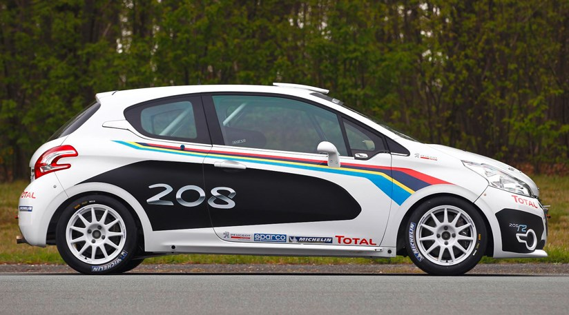 peugeot 208 r2 (2012): first official picturescar magazine