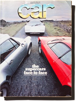 January 1976 CAR magazine