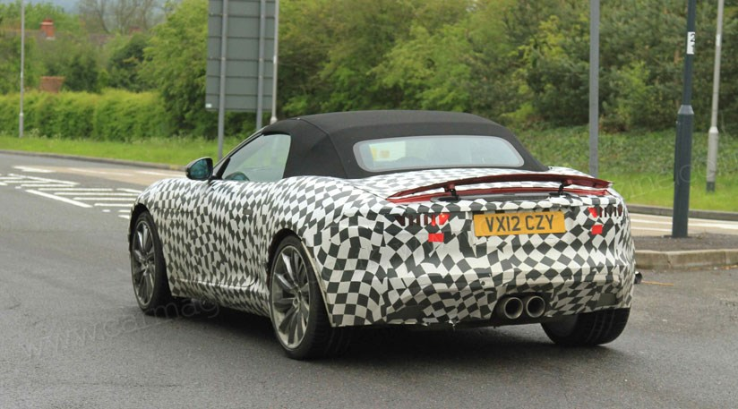 Jaguar F Type: The Final Prototypes Are On The Road