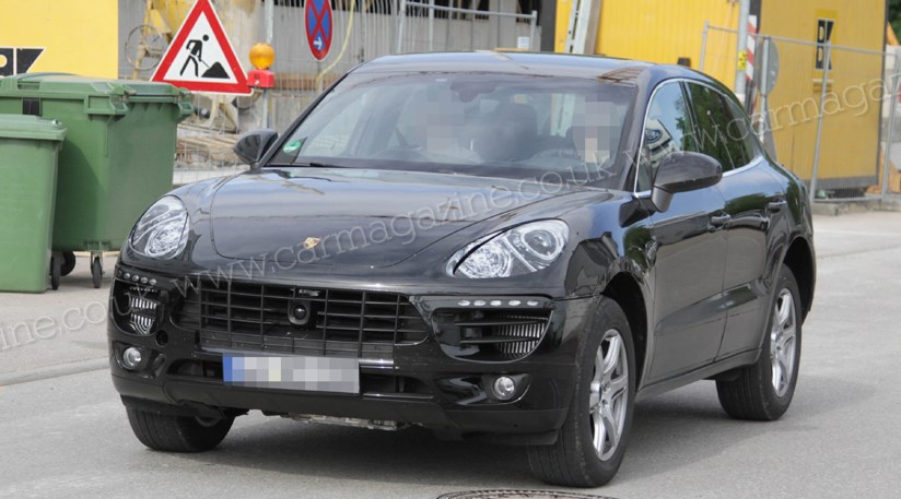 porsche macan 2013 scooped spyshots of baby 4x4 by car magazine. Black Bedroom Furniture Sets. Home Design Ideas