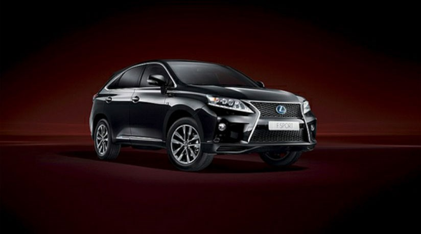 Lexus RX450h hybrid  2012s facelift goes on sale by CAR Magazine