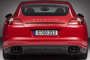 Porsche Panamera: due to become less visually challenging in April 2013
