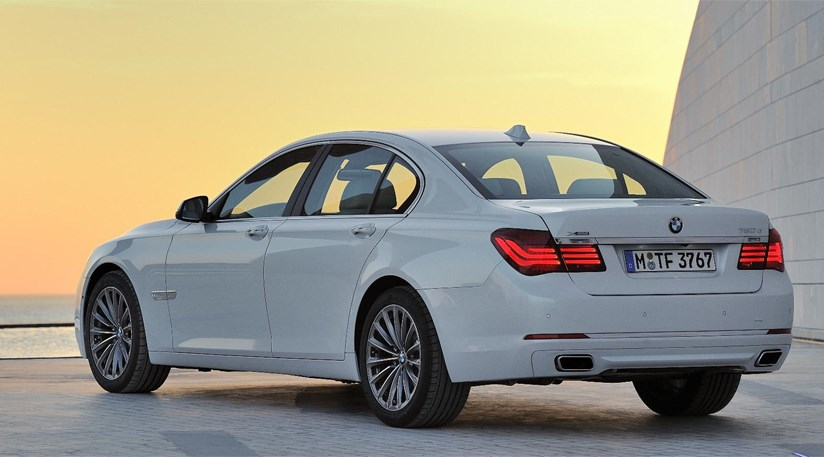 BMW 7 Series Facelift 2012 First Pictures By CAR Magazine