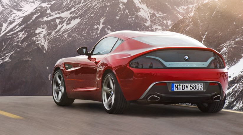 Bmw Zagato Coupe 2012 First Official Pictures Car