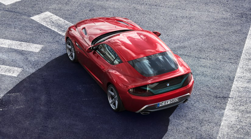 BMW Zagato Coupe (2012): first official pictures by CAR Magazine