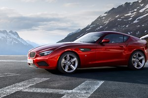 BMW Zagato Coupé (2012) first pictures