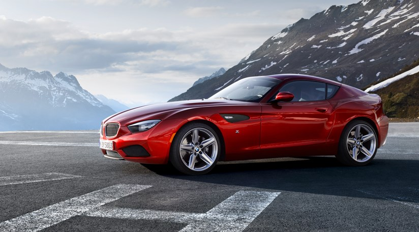 Bmw Zagato Coupe 2012 First Official Pictures By Car Magazine
