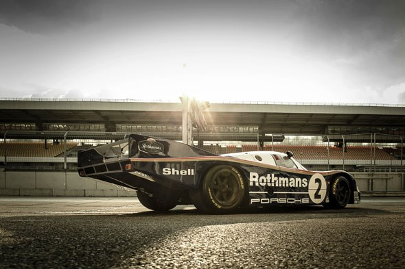 Porsche 956 no.2, driven by Jochen Mass and Vern Schuppan