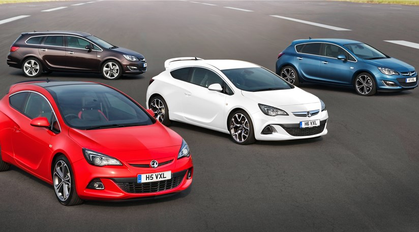 Vauxhall Astra Facelift 2012 First Official Pictures Car Magazine