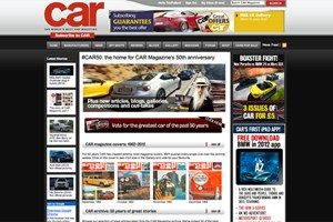 #CAR50 microsite: our 50th birthday HQ