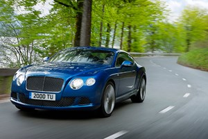 Bentley Continental GT Speed (2012) first official pictures