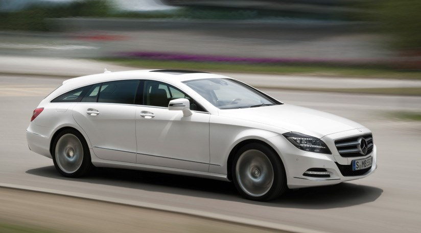 Mercedes CLS Shooting Brake (2012) First Pictures