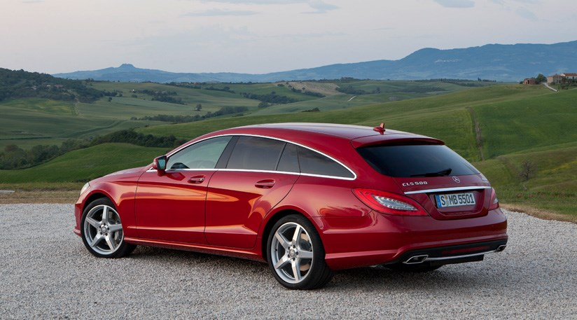 Mercedes CLS Shooting Brake 2012 first pictures by CAR Magazine