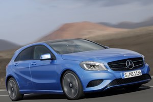 Mercedes A-class (2012) priced from £18,945