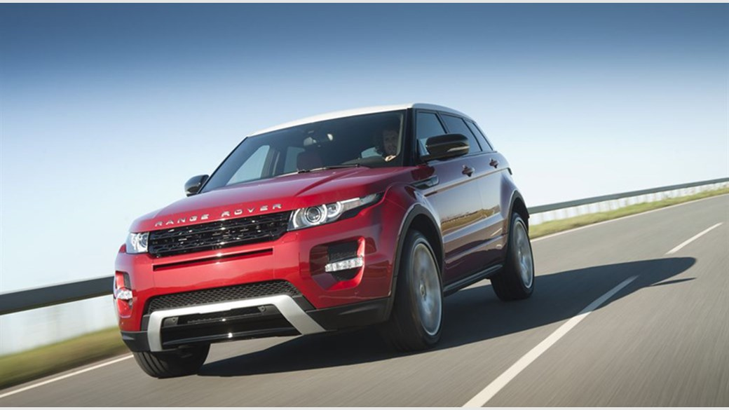 Evoque Dynamic Review Range Rover Evoque Si4 Dynamic
