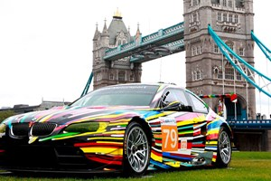 Jeff Koons Art Car at Tower Bridge