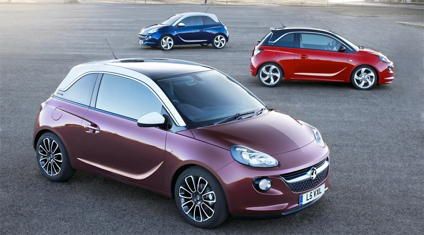 vauxhall adam 2013 first official pictures by car magazine. Black Bedroom Furniture Sets. Home Design Ideas