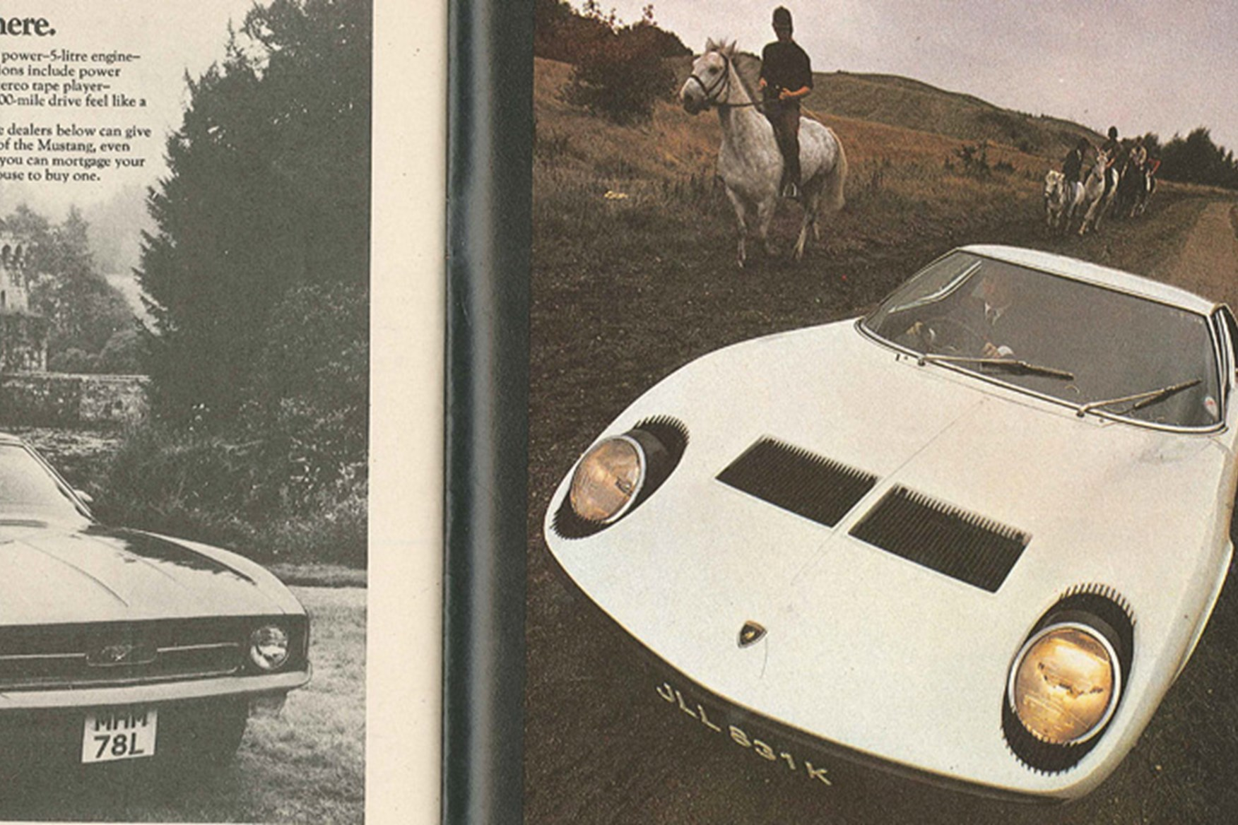 Superb ... Lamborghini Miura   The Last Hoorah, November 1972