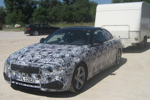This is BMW's new 4-series, spied by CAR readers in southern France