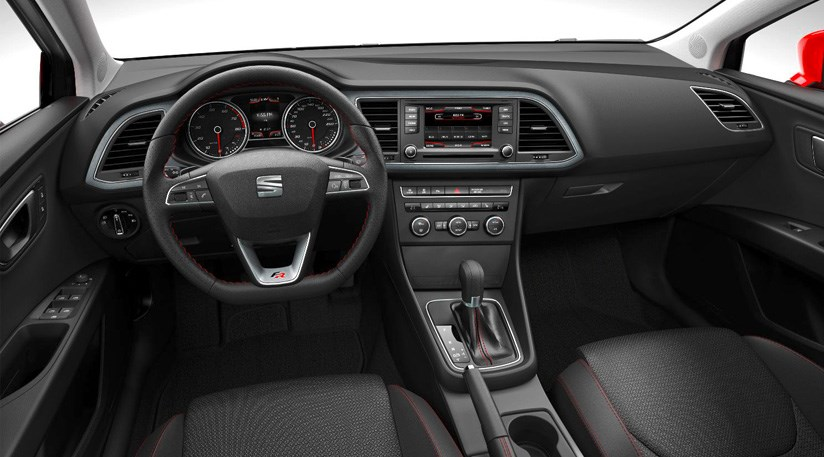 seat leon 2012 first official pictures by car magazine. Black Bedroom Furniture Sets. Home Design Ideas