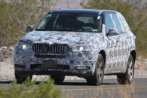 BMW's new X5 has been spied in Death Valley