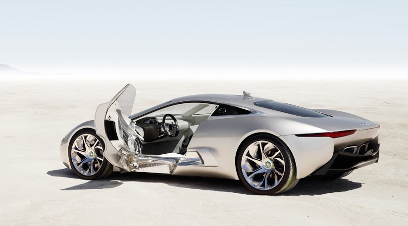 Jaguar C Hybrid Supercar Here By By Car Magazine