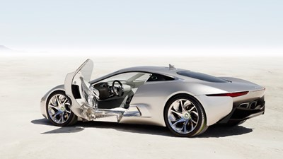 Jaguar C X75 500bhp Hybrid Supercar   Here By 2014