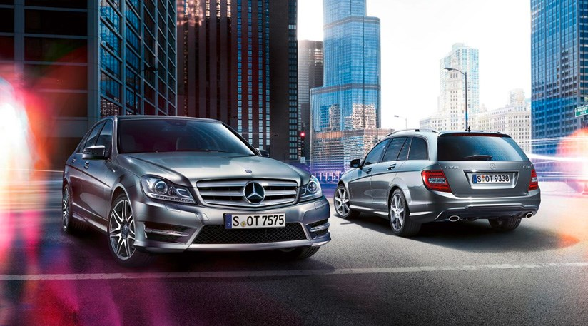 Mercedes C Class 2013 Gets New Engine Updated Trim By