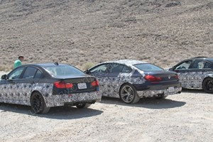 Here's the new BMW M3 and M6 Gran Coupe, scooped by CAR