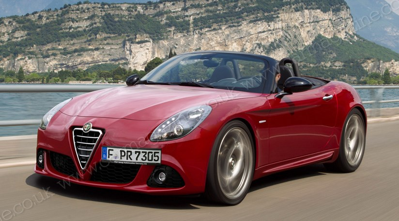Here S Hoping It Looks Like This The New Alfa Spider For 2017