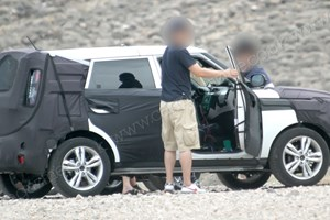 This is Kia's new Soul testing in California