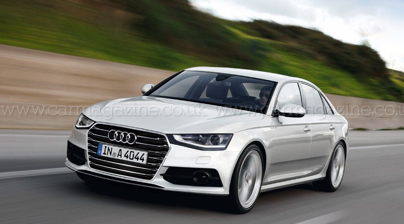 audi a4 2014 the new a4 codenamed b9 by car magazine. Black Bedroom Furniture Sets. Home Design Ideas