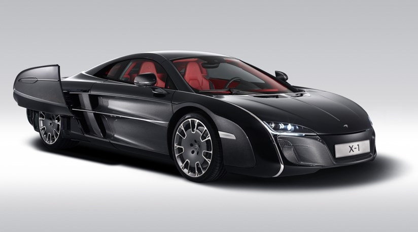 Mclaren X Rebodied Supercar By Car Magazine