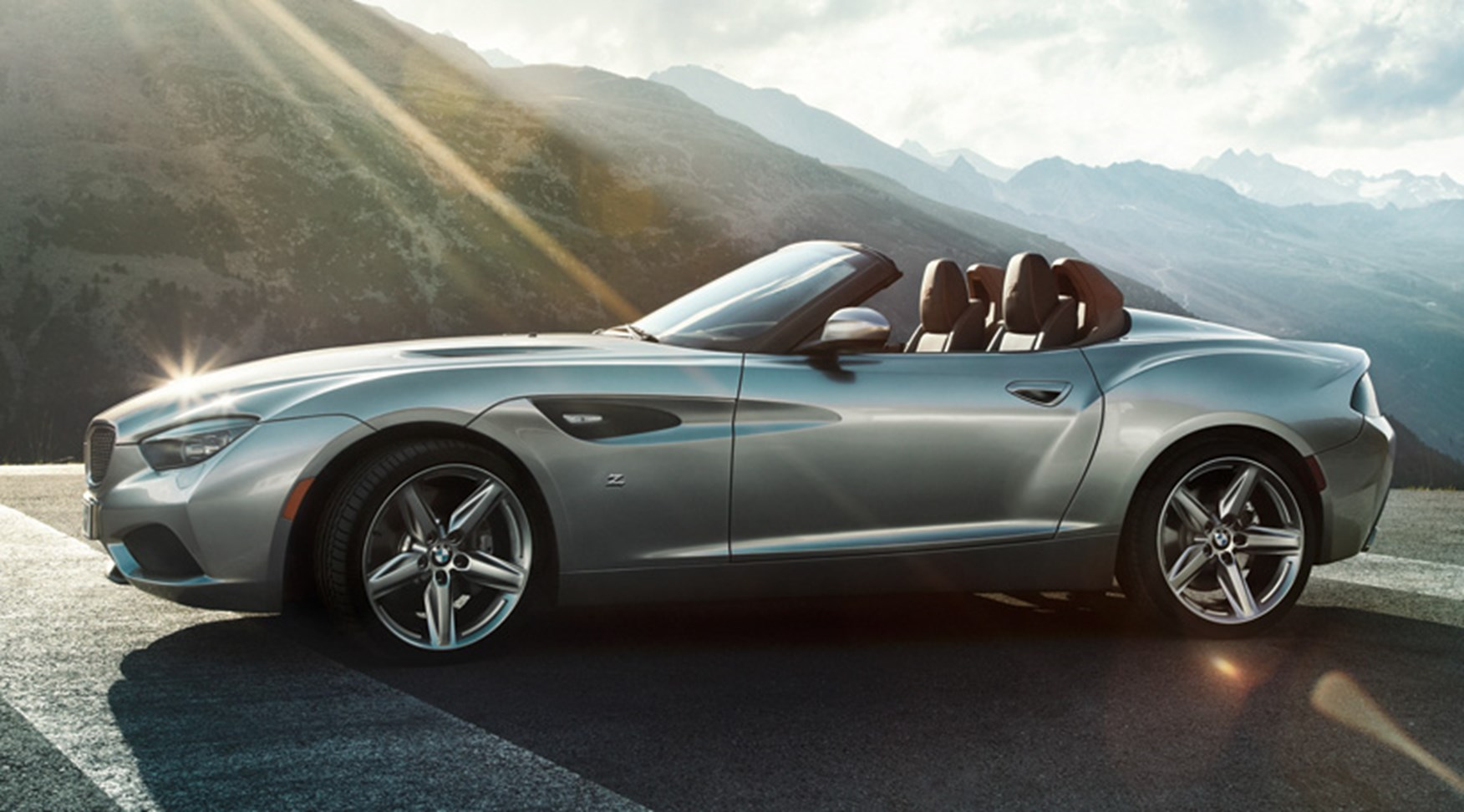 Bmw Zagato Roadster 2012 First Official Pictures Car