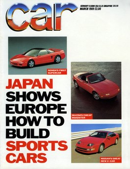 March 1989 CAR magazine