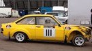 CAR's Jesse Crosse rallying in a Gp4 Ford Escort Mk2