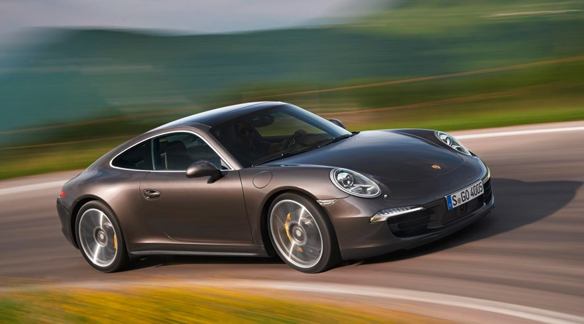 porsches 911 carrera 4 and 4s have winder hips and fatter tyres than a two wheel drive car