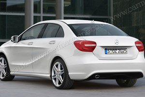 Mercedes CLA will be the baby brother to the CLS four-door coupe