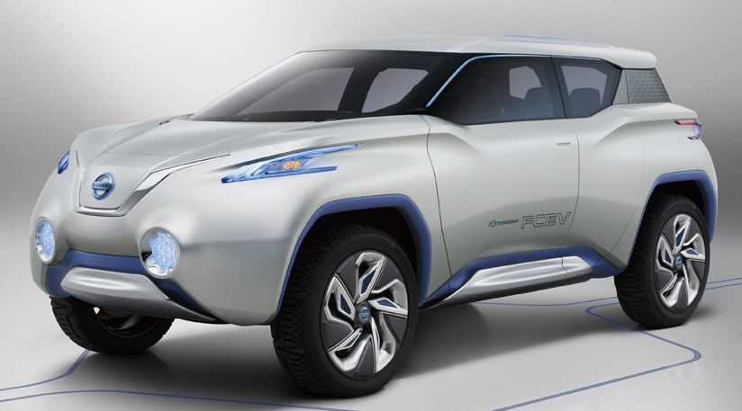Nissan Terra Suv Concept 2012 First Official Pictures Car Magazine