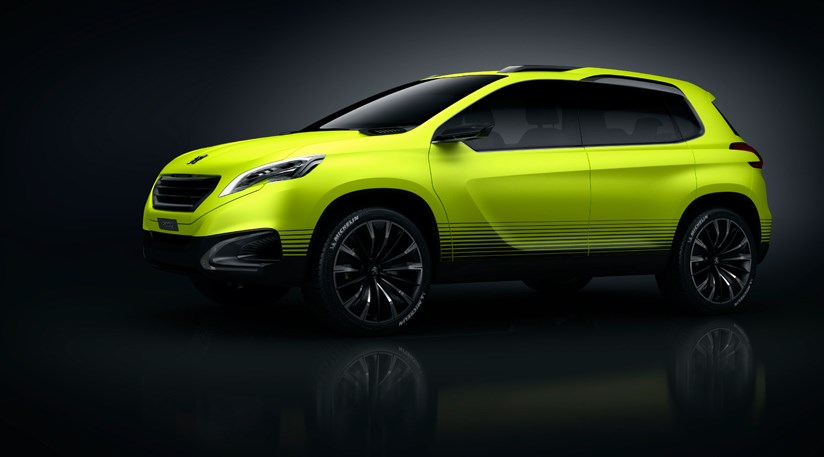 peugeot 2008 crossover concept 2012 first pictures by. Black Bedroom Furniture Sets. Home Design Ideas