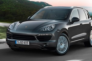 This is the Porsche Cayenne S Diesel