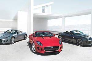 Jaguar F-type (2013) first official picture