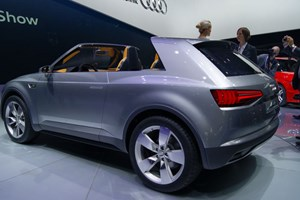 Audi Crosslane Coupe at the 2012 Paris motor show