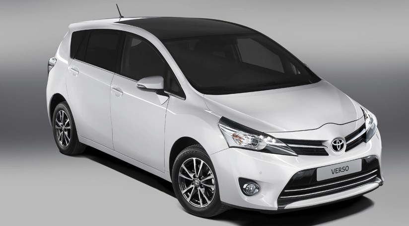 Toyota Verso Facelift 2012 First Official Pictures By