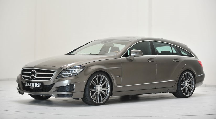 mercedes cls shooting brake by brabus 2012 by car magazine. Black Bedroom Furniture Sets. Home Design Ideas